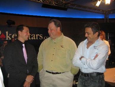 Tre mästare. Ken, Greg och Joe.