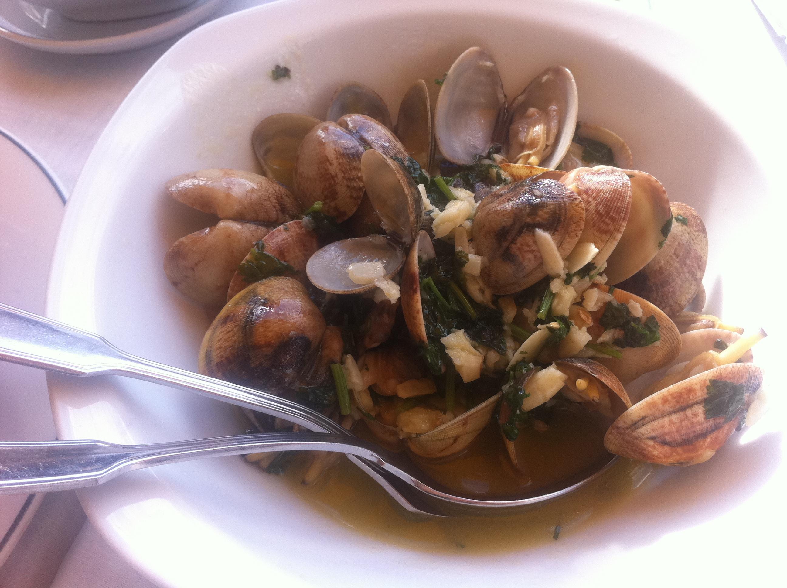 Portugisisk seafood går inte av för hackor.