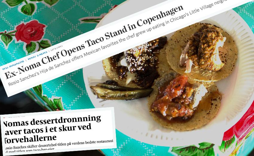 Tacofeber på spanska i Köpenhamn. (Foto: hijadesanchez.dk och fakismil från WSJ och Mad.)