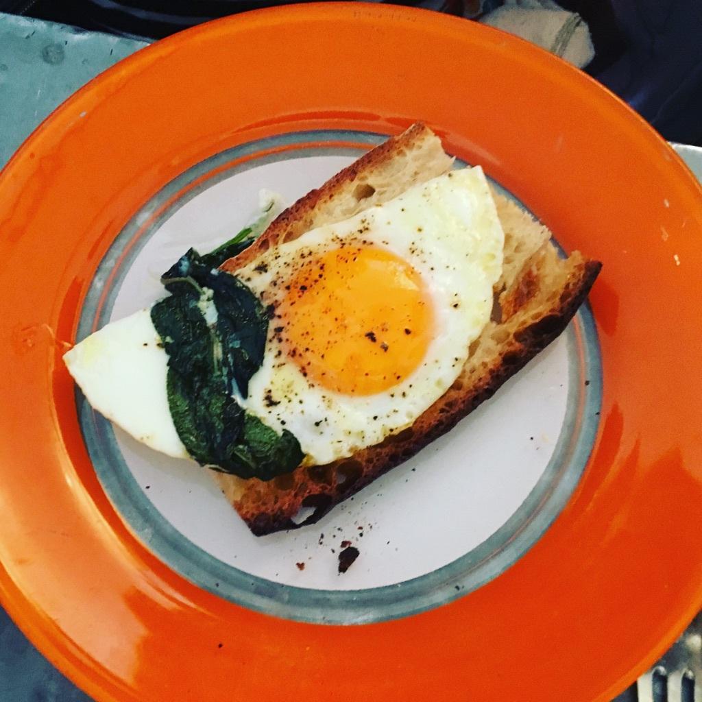 Perfekt ägg-frulle!