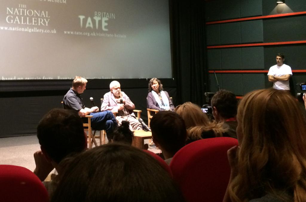 """Mike Leigh och skådespelaren Marion Bailey pratade om deras nya (och rätt sömniga) film """"Mr Turner""""."""