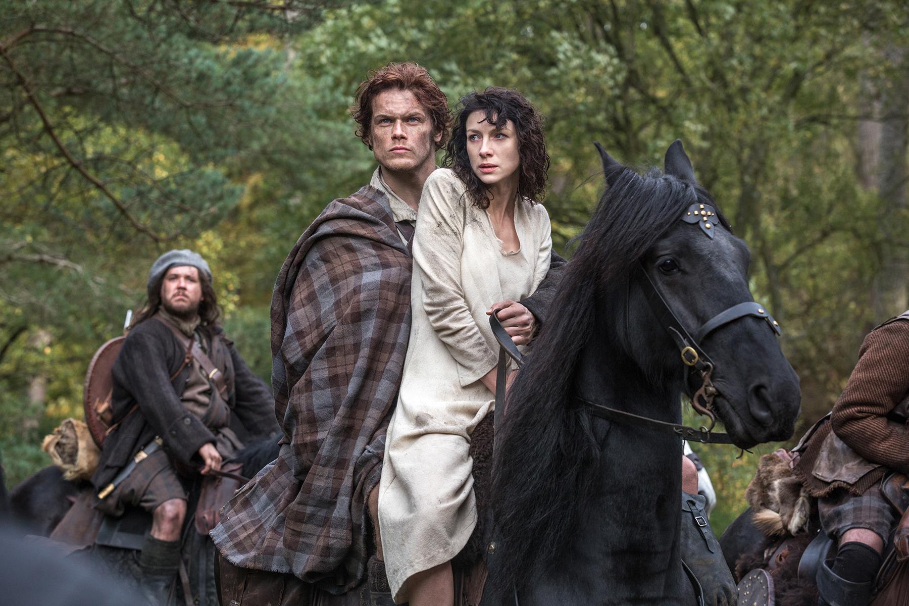 Är Outlander stjärnor dating