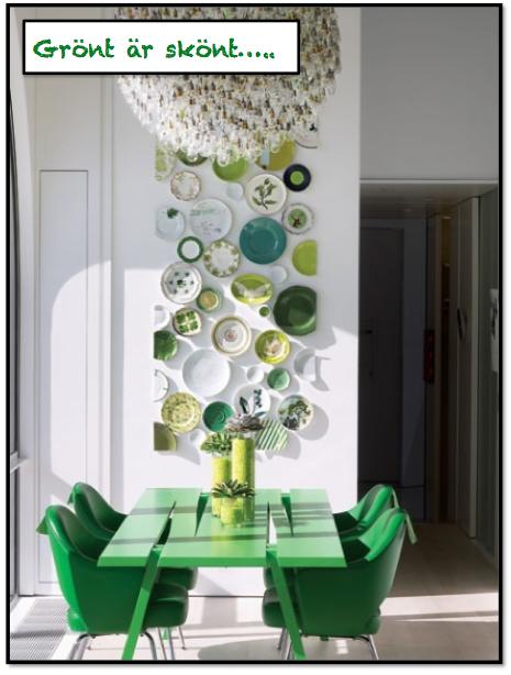 emerald green grönt