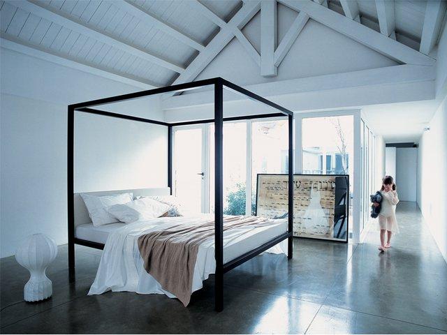 Zanotta, sovrum, sänghimmel, design