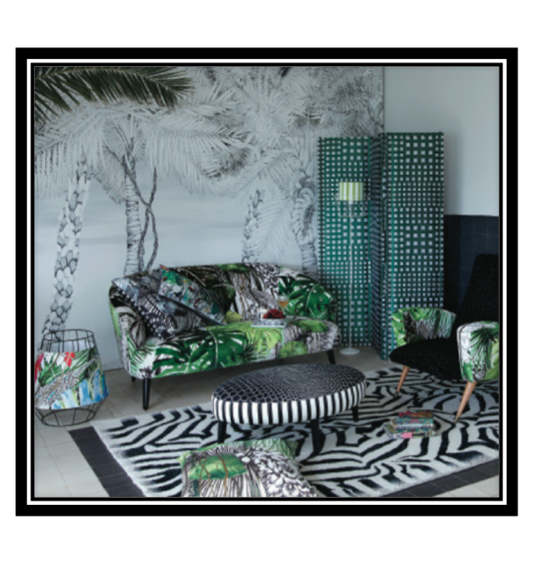chrstian lacroix, designers guild, pattern, tropic