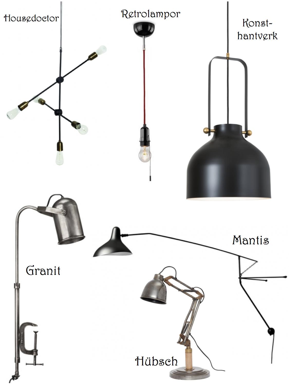 industrilampor
