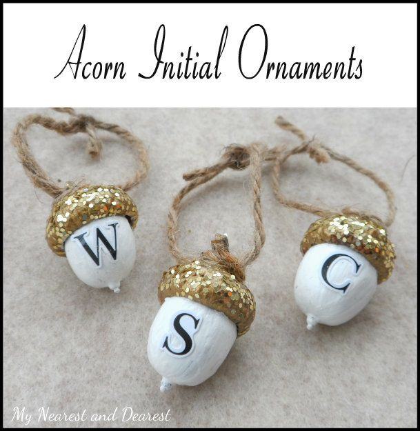 Diy-Personalised-Acorn-Christmas-Ornaments.-My-Nearest-And-Dearest-Blog.-A-Fun-Craft-For-Adults-Or-Older-Kids-These-Make-A-Sweet-Little-Gift