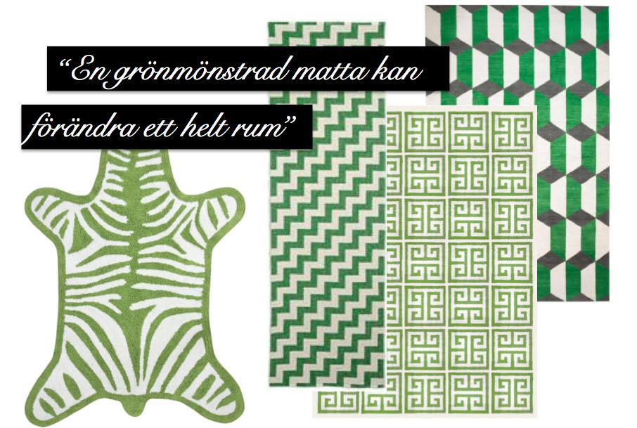 grönamattor