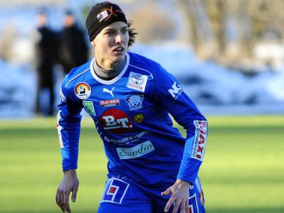 Landström på språng 2009.