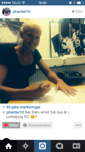 Pernille Harder skriver på ett nytt tvåårskontrakt med Linköping.