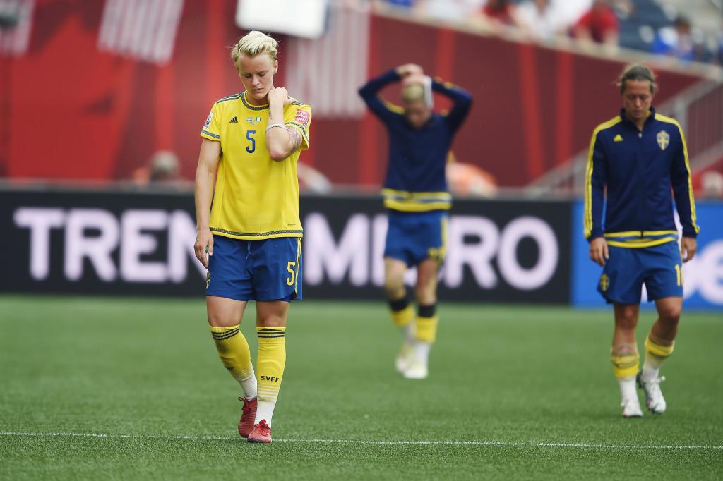 Fotboll, Dam, VM, Sverige - Nigeria