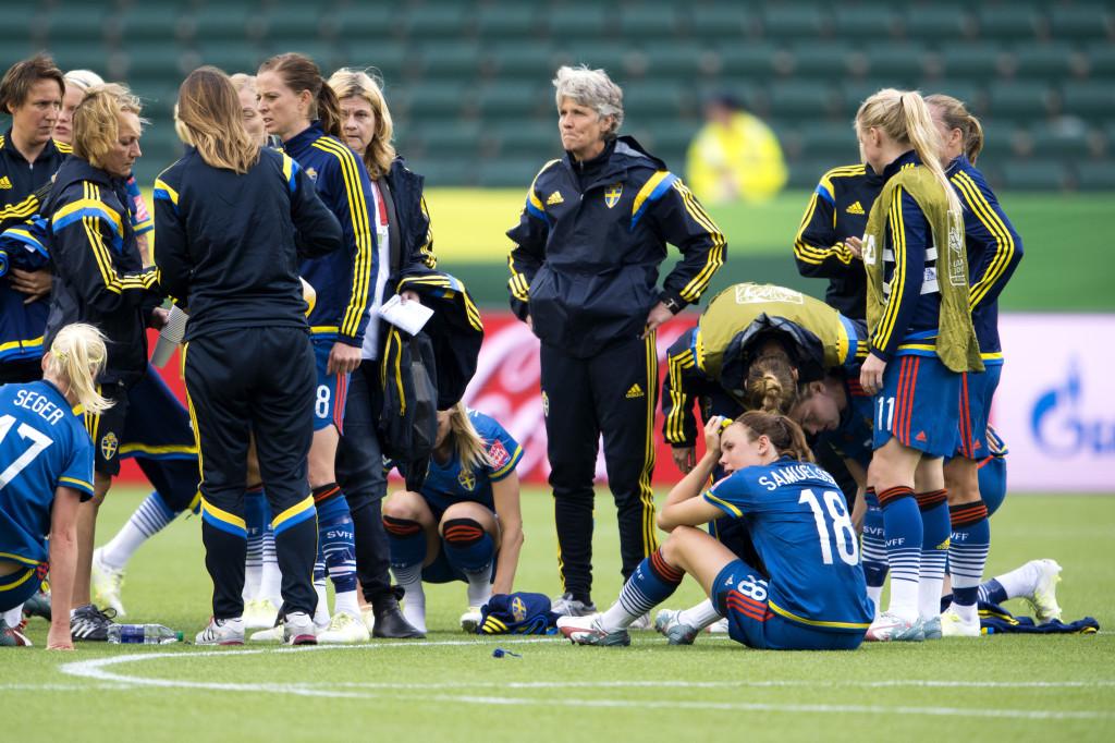 Fotboll, Dam, VM, Australien - Sverige