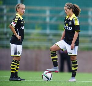 Fotboll, Damallsvenskan, AIK - Linkšping