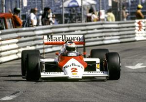 Stefan i ein McLaren