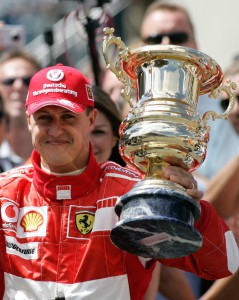 Michael Schumacher privat
