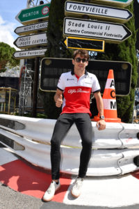 Charles Leclerc (MON) Alfa Romeo Sauber F1 Team at Formula One World Championship, Rd6, Monaco Grand Prix, Preparations, Monte-Carlo, Monaco, Wednesday 23 May 2018.