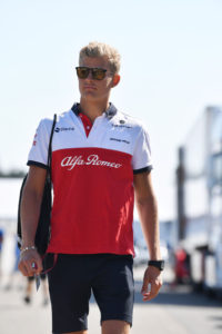 Marcus Ericsson (SWE) Alfa Romeo Sauber F1 Team at Formula One World Championship, Rd11, German Grand Prix, Preparations, Hockenheim, Germany, Thursday 19 July 2018.