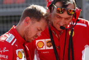 Formula One F1 - Japanese Grand Prix - Suzuka Circuit, Suzuka, Japan - October 7, 2018 Ferrari's Sebastian Vettel ahead of the race REUTERS/Issei Kato