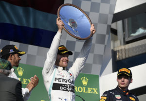 Bottas dominerade Australien GP i F1 2019
