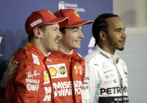 Topp tre i Bahrain GP 2019