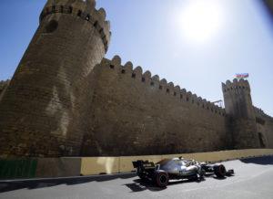 Azerbajdzjan GP i F1 Mercedes i topp