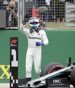 Valtteri Bottas har pole position i Storbritannien GP 2019