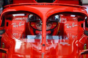 Mick Schuamcher testa för Ferrari