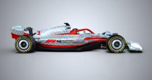 Bil till Formel 1 2022
