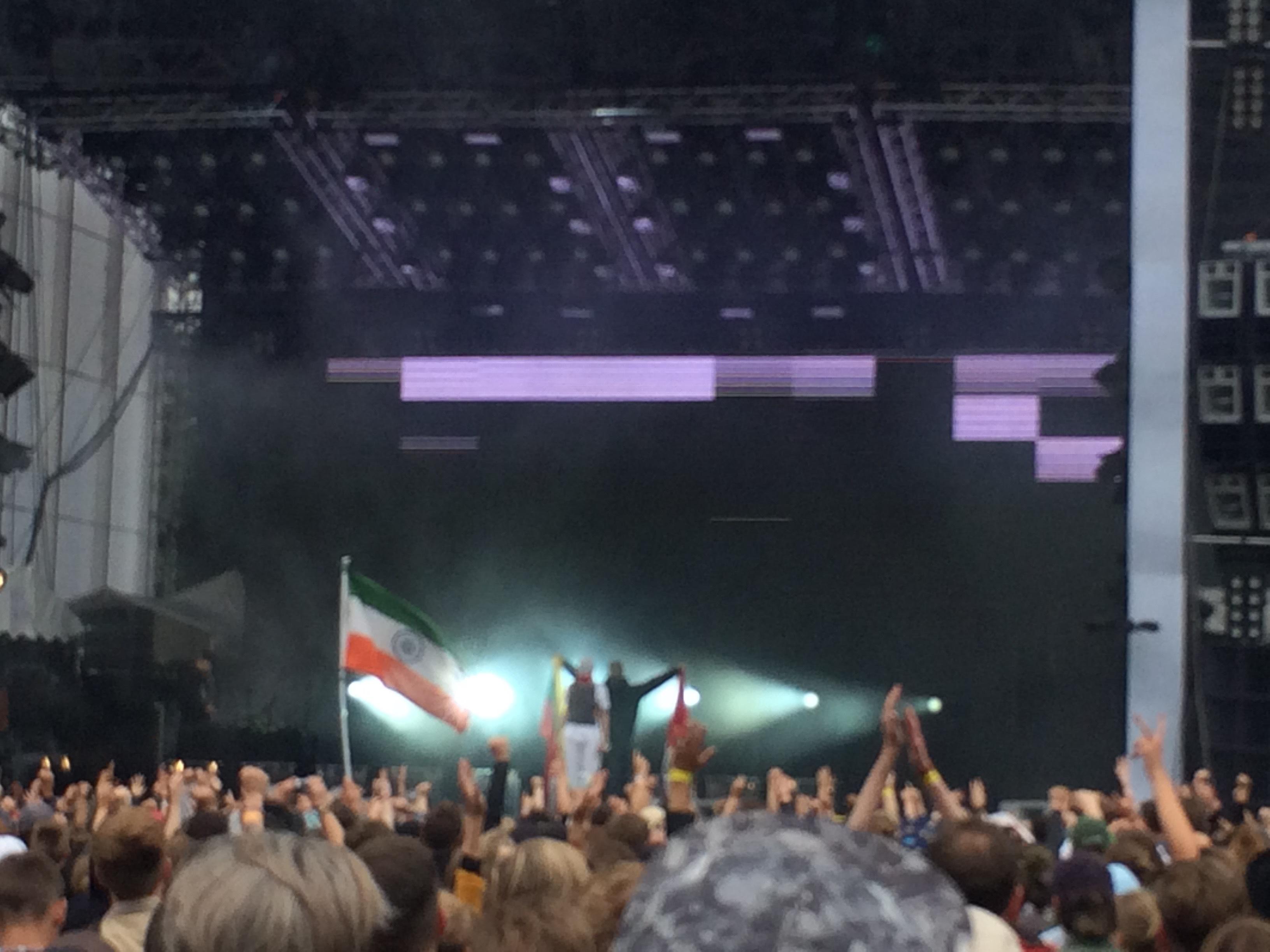 Det här var Silvanas Roskilde. Med litauisk flagga och stenhårda beats dominerade hon scenen.