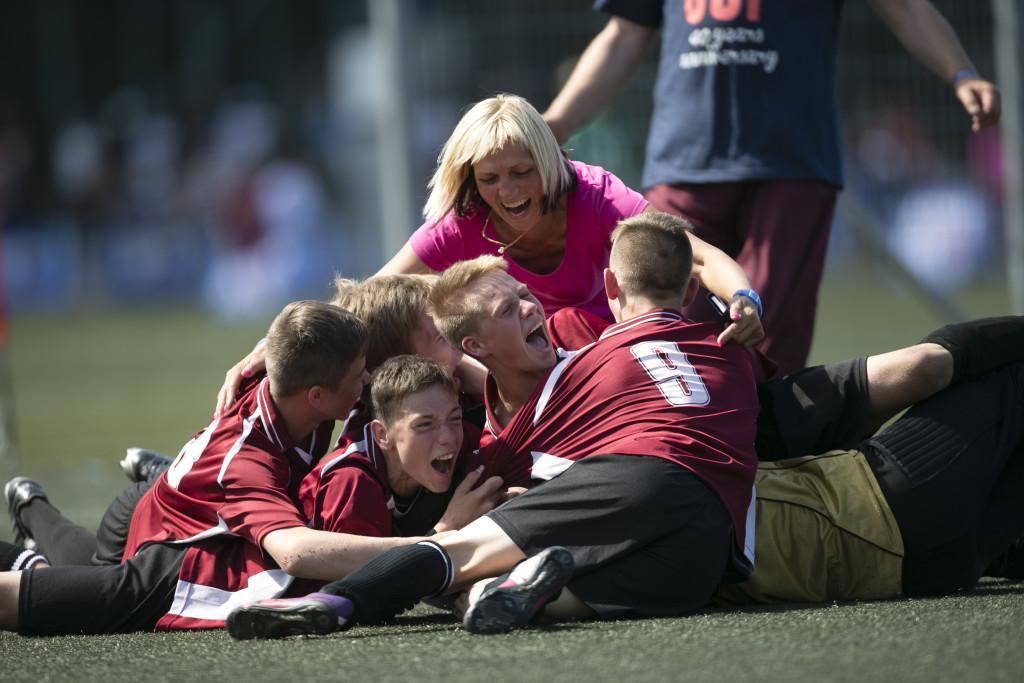 Gothia Cup. Lettland.. Foto: Anders Deros