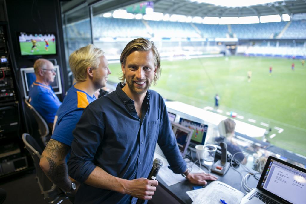 Gothia Cup-Speaker Erik Frennberg. Foto: Anders Deros