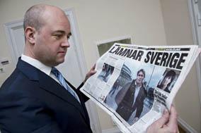 Fredrik Reinfeldt. (Foto: Lars Hedelin)