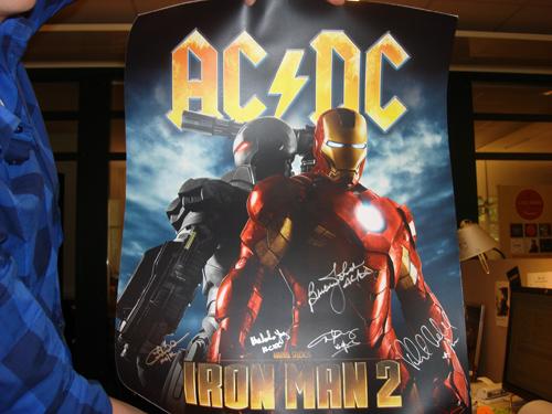 AC/DC-affisch