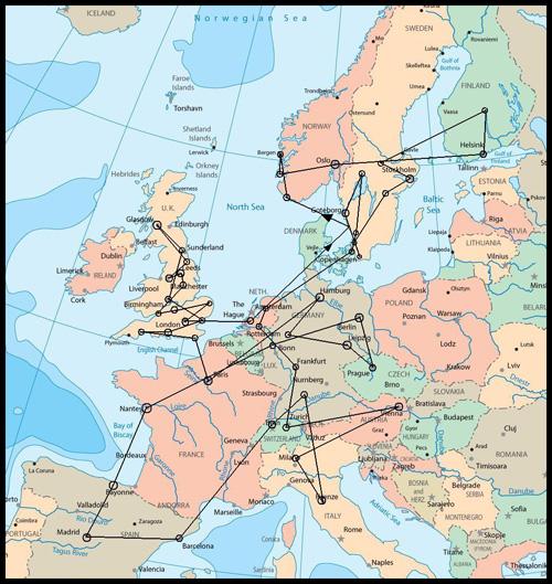 Europakarta.