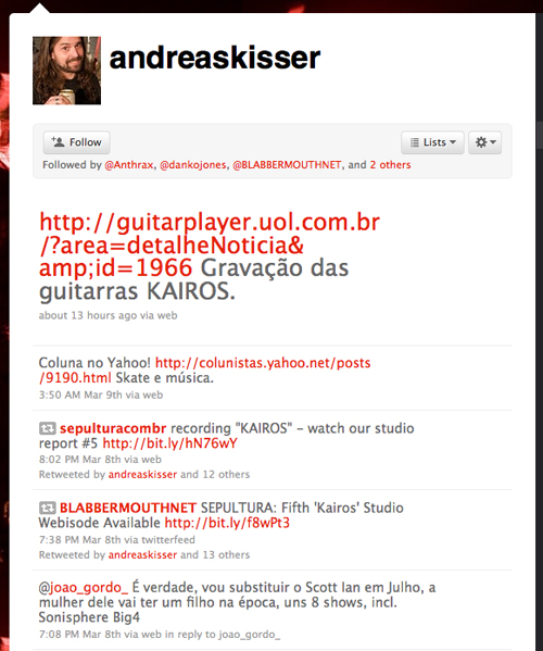 Andreas Kissers twitter