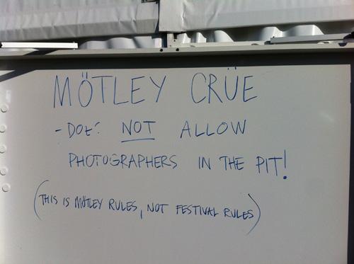 Mötley Crüe-skylt