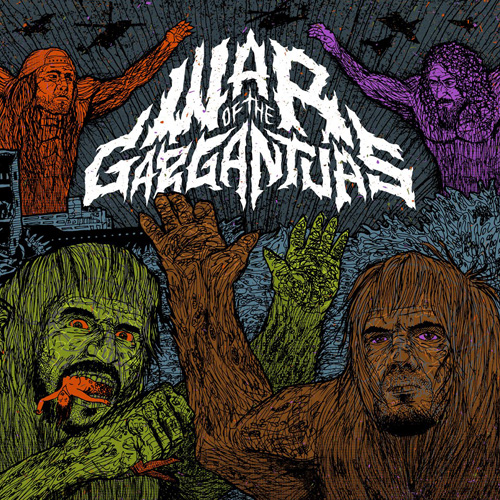 "Philip H Anselmo/Warbeast ""War of the gargantuas"""