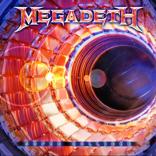 "Megadeth ""Super collider"""