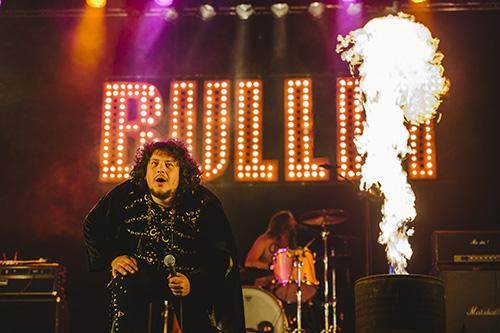 Ganska så heta på torsdagkvällen: Bullet. Foto: PER JOHANSSON/ROCKFOTO