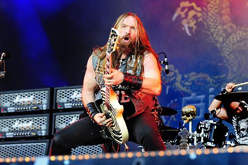 Zakk Wylde på Sweden Rock för två år sedan. Foto: Lina Boström Einarsson/Aftonbladet