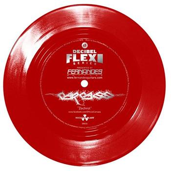 Så här ser skivan i fråga ut. Röd och fin.