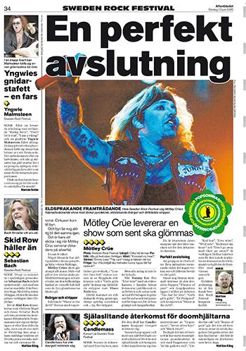 Aftonbladet den 12 juni 2005.