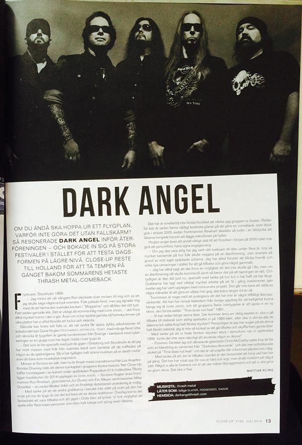 Close-Up Magazine #163 finns rimligtvis i någon butik nära dig just snart.