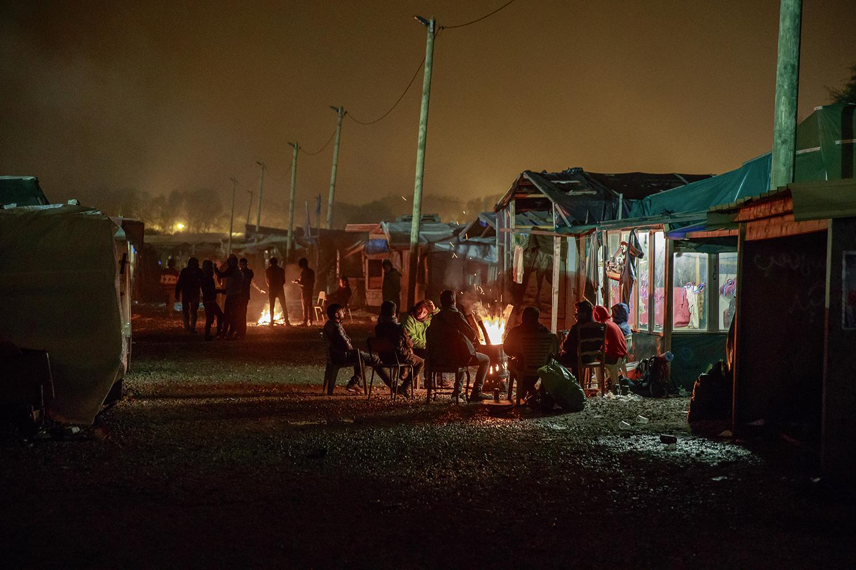 ©fotograf krister hansson malmö 20161023 the jungel utanför caliais centrum.