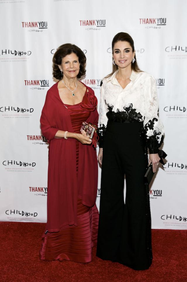 67760f78c31f Två drottningar och en filmstjärna på gala i New York