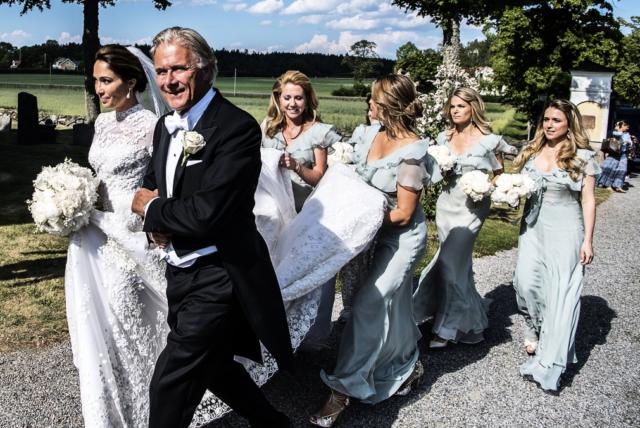 Kläderna från Louise Gottliebs bröllop – kungafamiljen