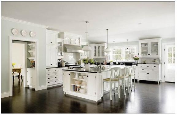 Kok Lantligt Modernt :  ger golvet en modern och stilren konsla Foto fron Decorpadcom