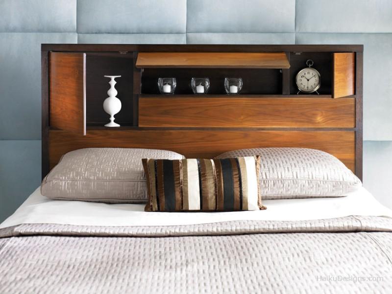 Ritning sänggavel trä