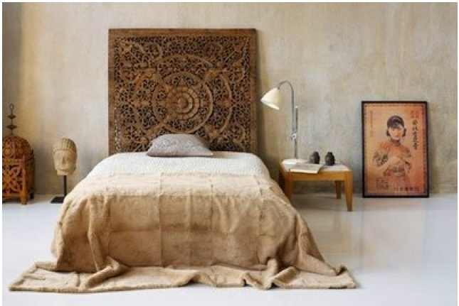 Sänggavlar Förvaring : Bohemchic sänggavel