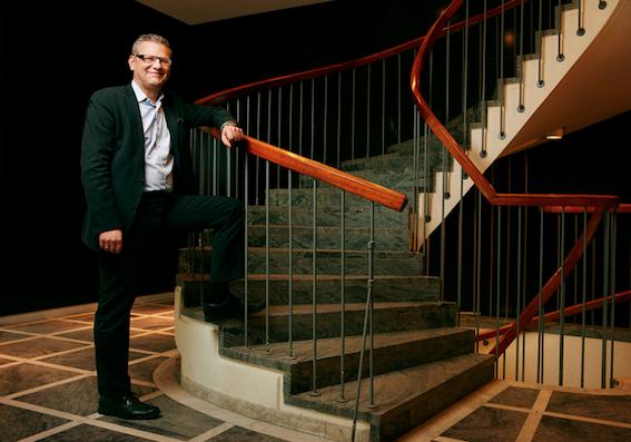 Bemanningsföretagens vd Henrik Bäckström företräder en växande bransch.